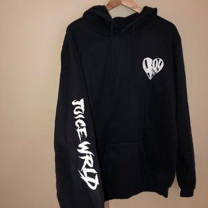 Juice Wrld 999 Navy Hoodie Sweatshirt NWT